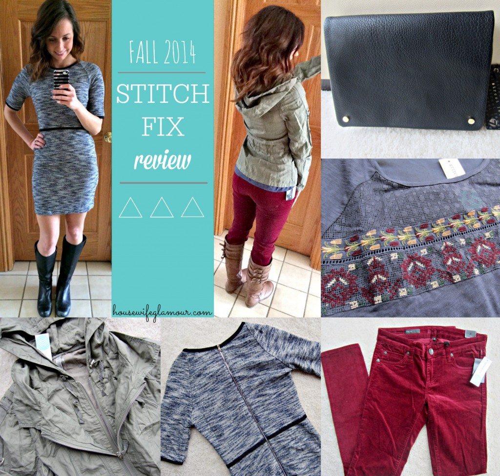Stitch Fix November blog review Housewife Glamour