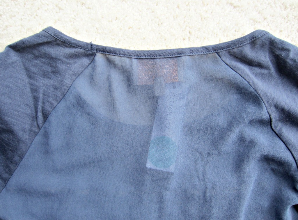 Stitch Fix Skies are Blue Esmeralda Embroidered Knit Top back