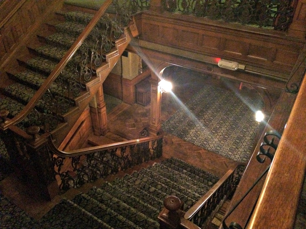 The Whitney staircase