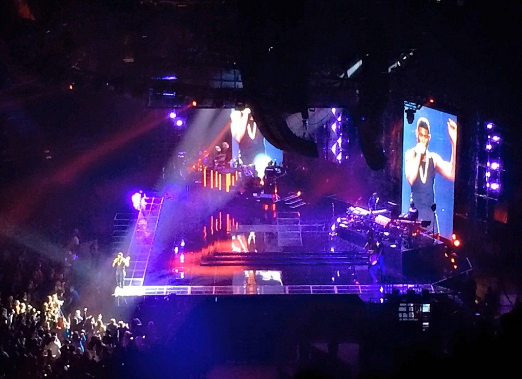 Usher Concert Detroit