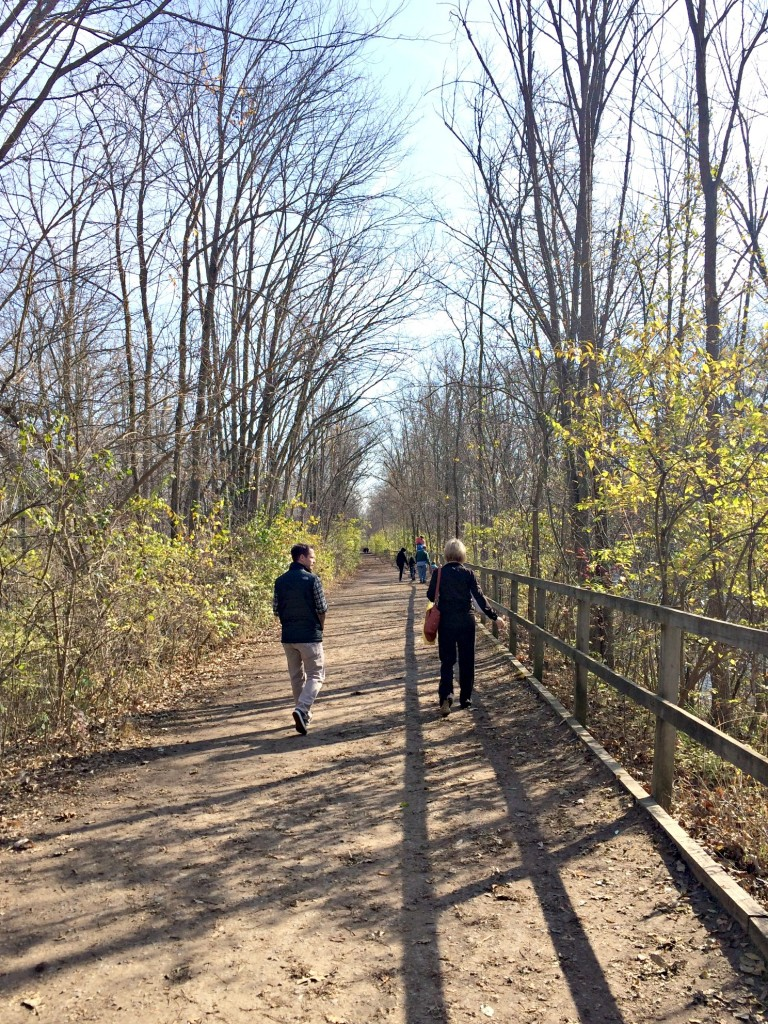 Yates Cider Mill trail