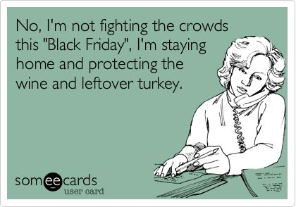black friday at home
