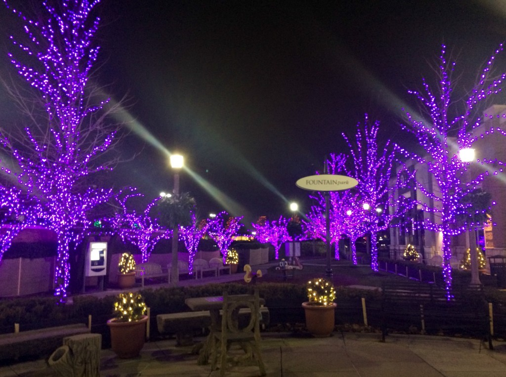 christmas lights at the village rochester