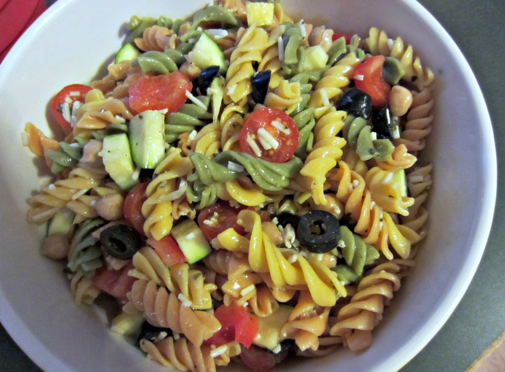 healthy pasta salad recipe