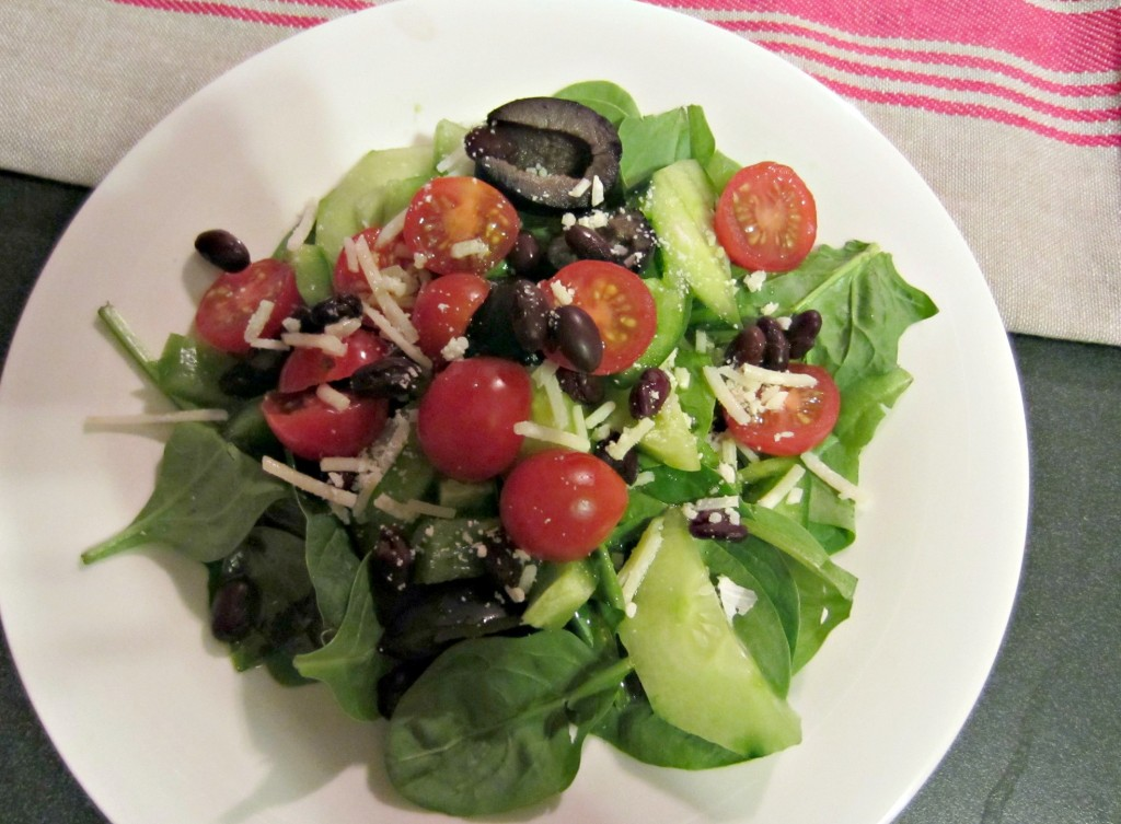 healthy side salad
