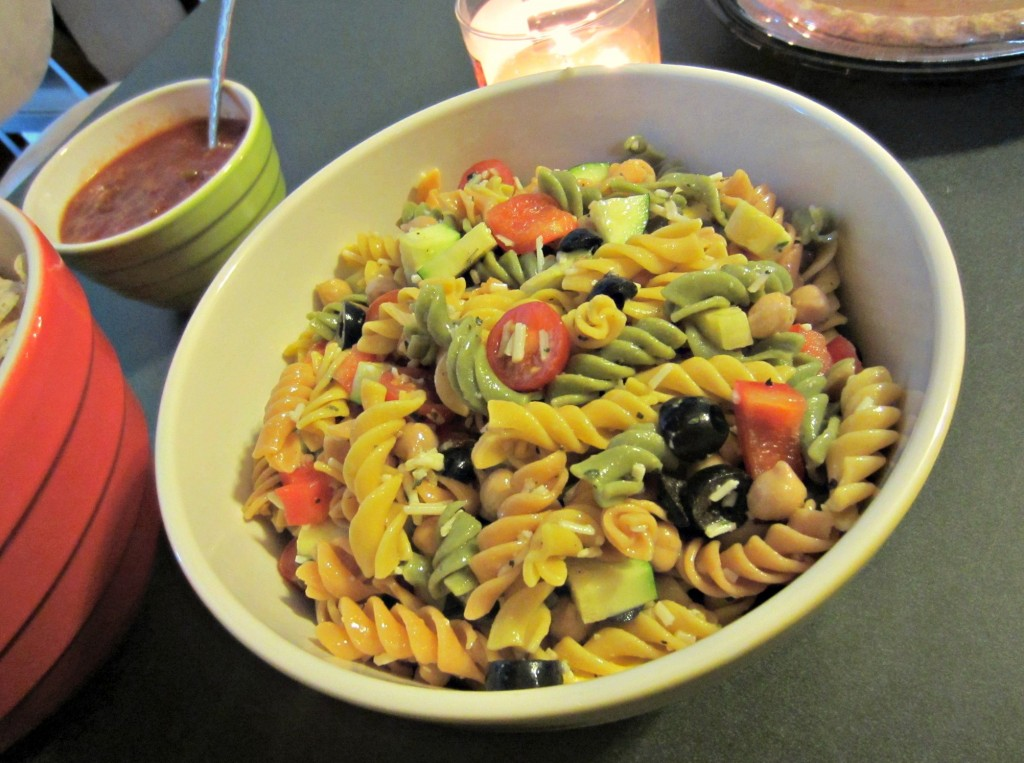 housewife glamour pasta salad