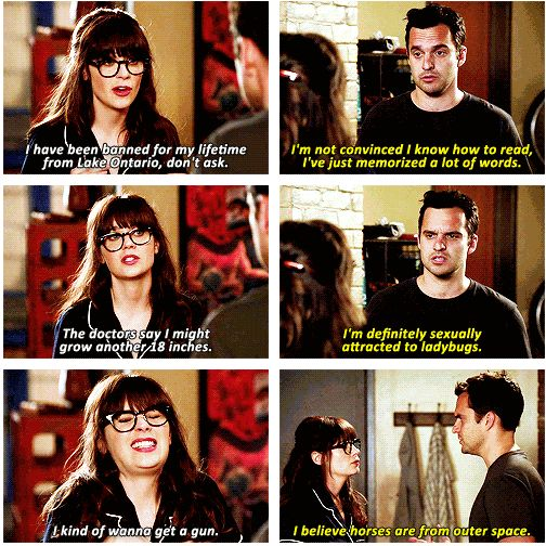 new girl honesty