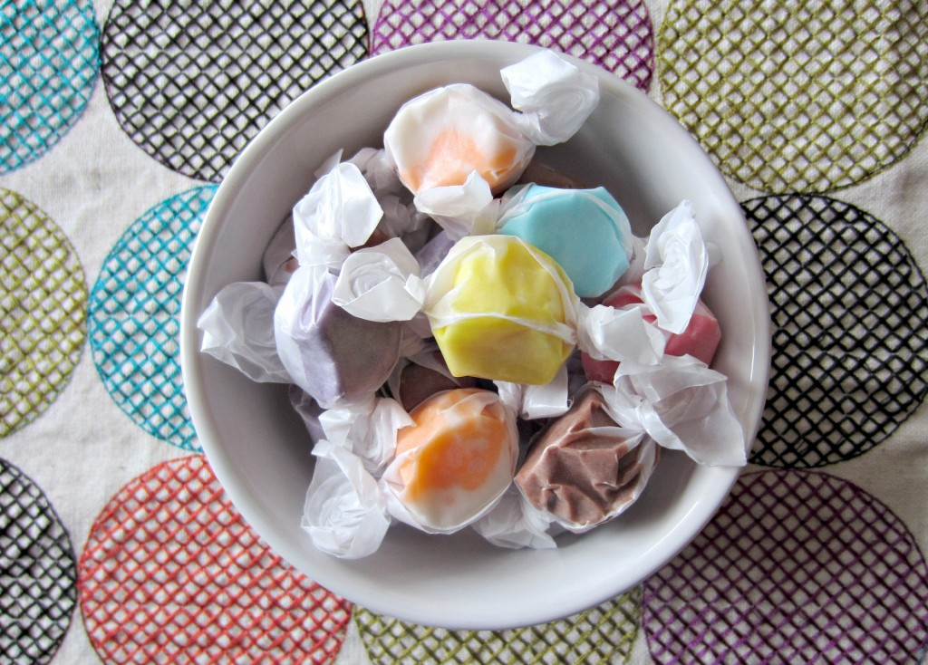 salt water taffy from the cider mill
