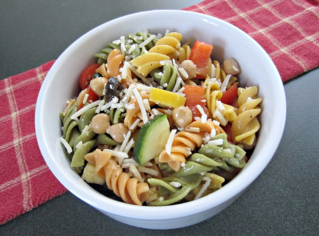 vegetable pasta healthy