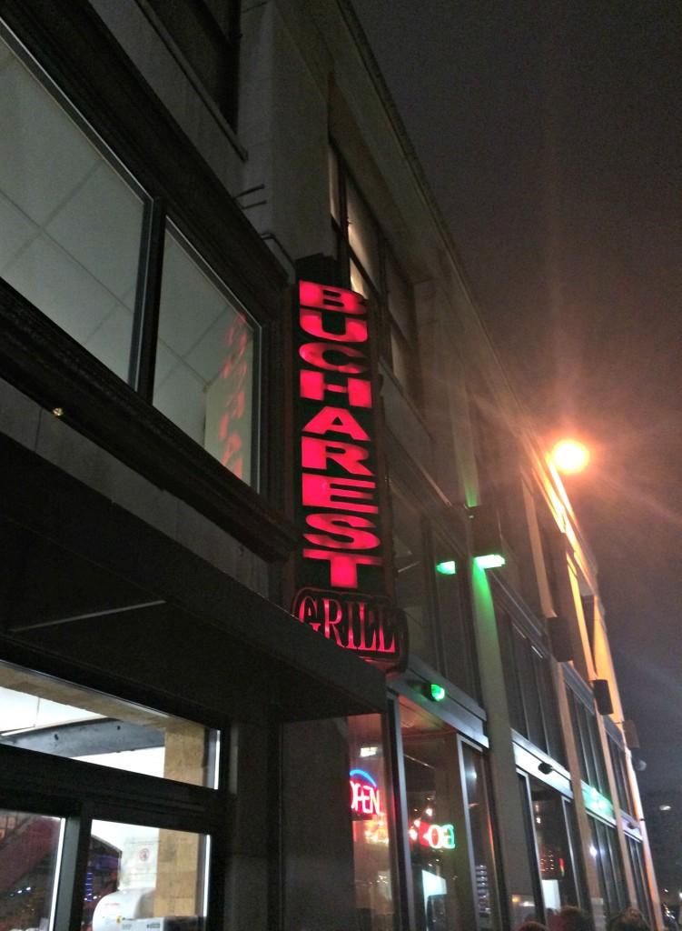 Bucharest Grill Detroit