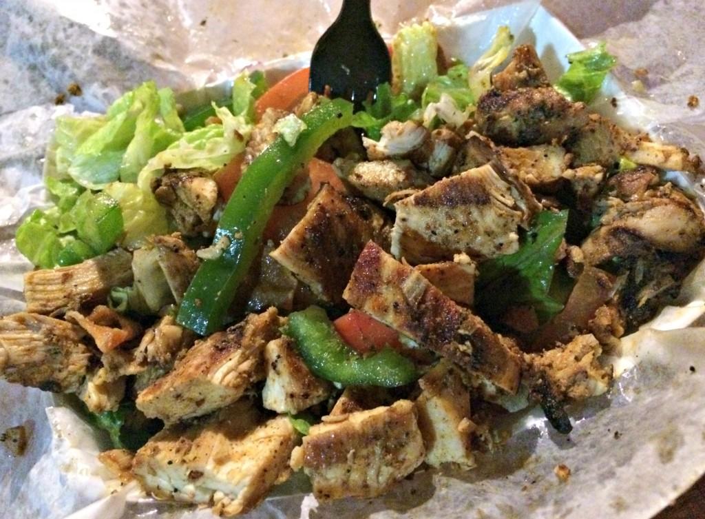 Bucharest Shawarma chicken salad