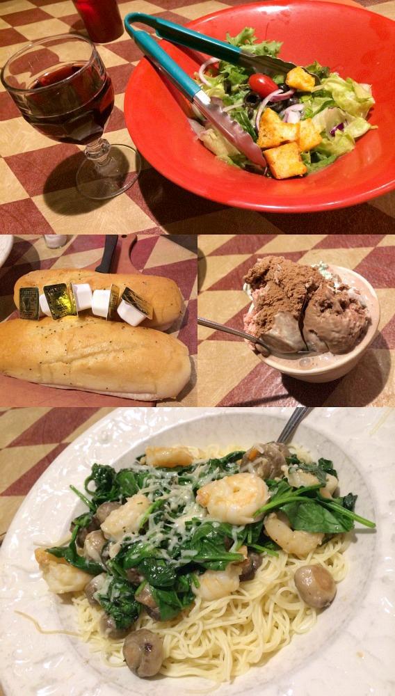 East Side Marios dinner