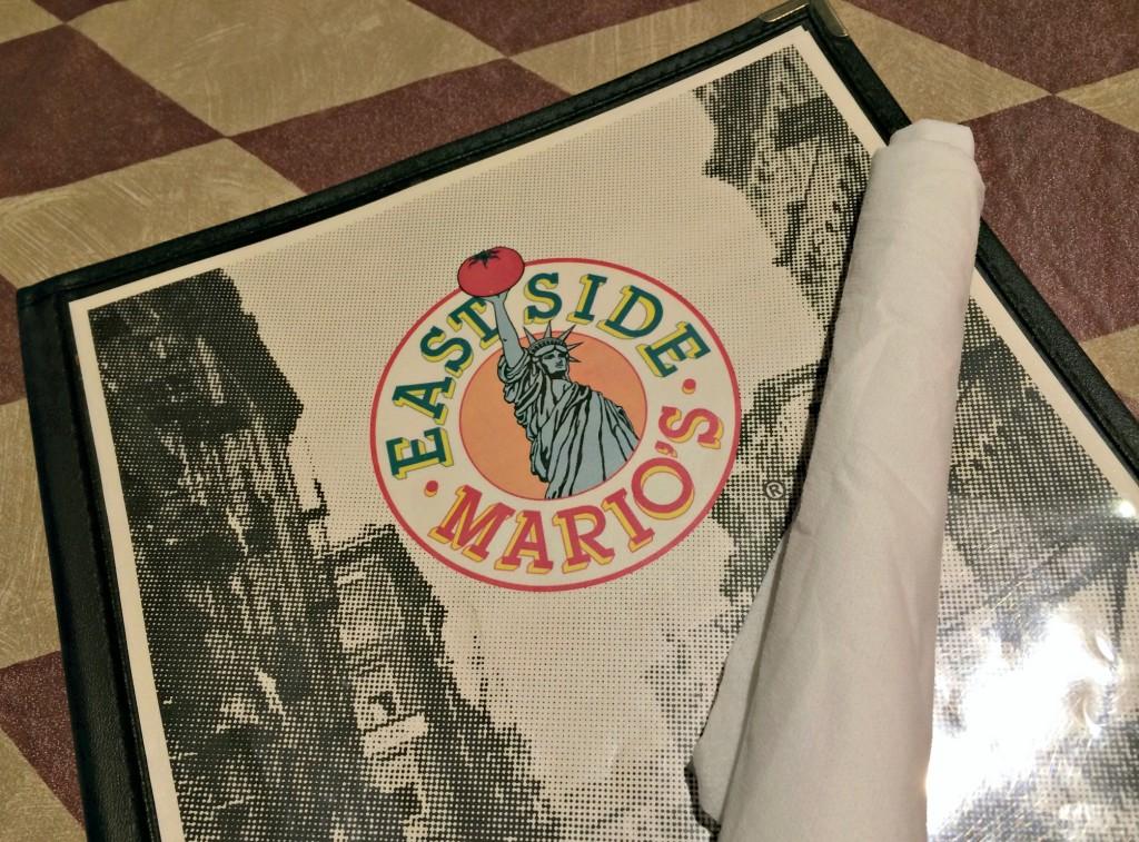 East Side Marios menu