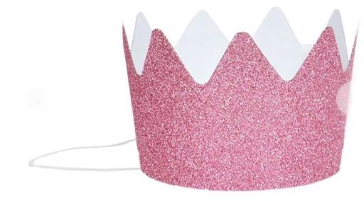 alex and alexa glitter crowns