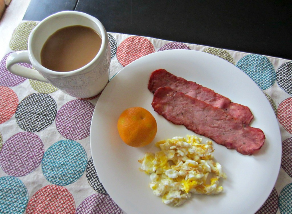all natural turkey bacon breakfast
