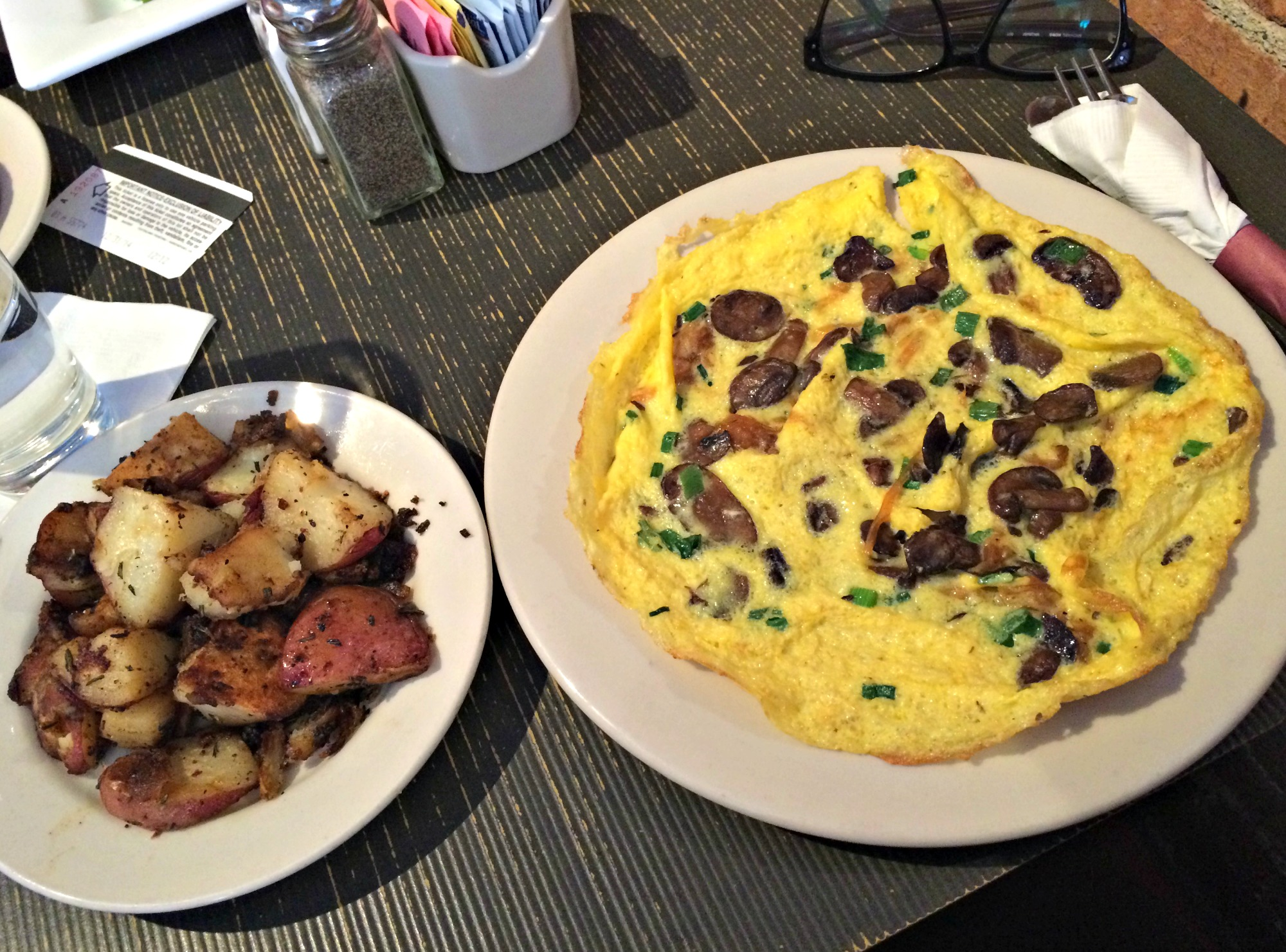 cafe zola omelette