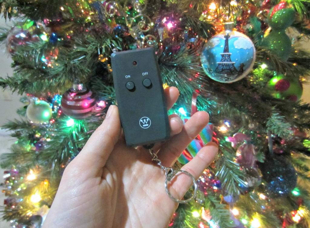 christmas light remote