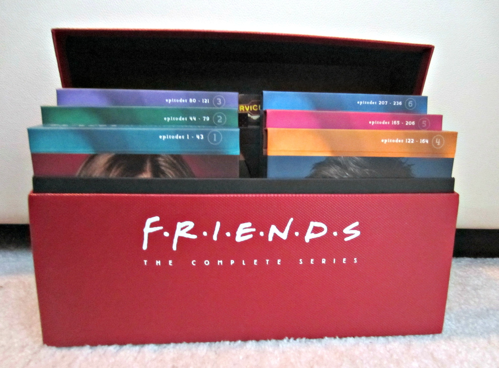 complete friends series DVD set