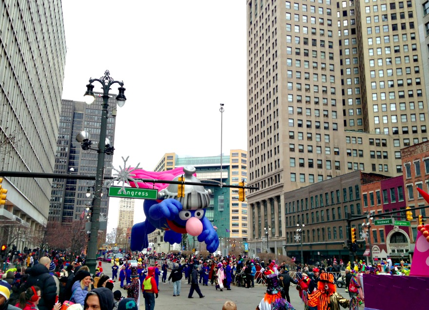 detroit thanksgiving day parade 2014