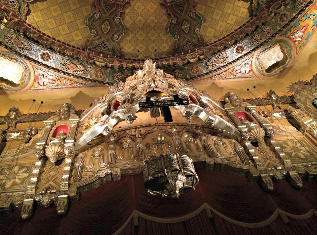 fox theatre architecture inside