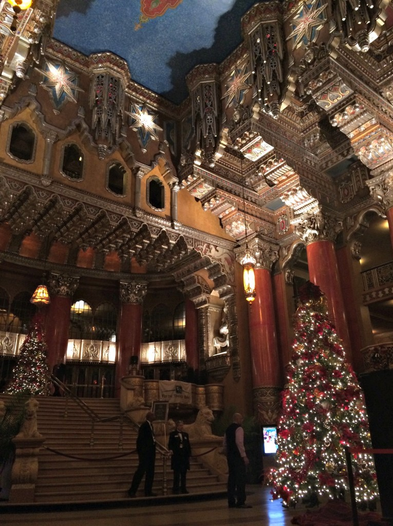 fox theatre inside lobby holidays