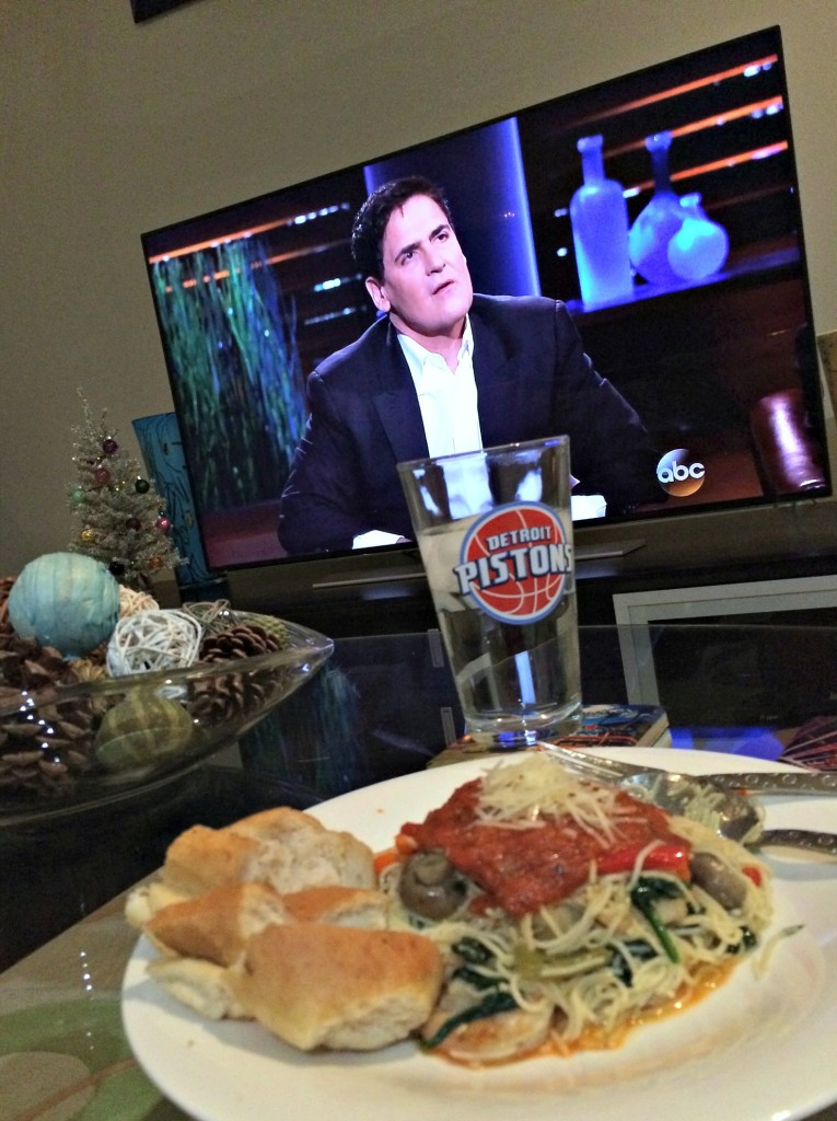 leftover pasta and shark tank