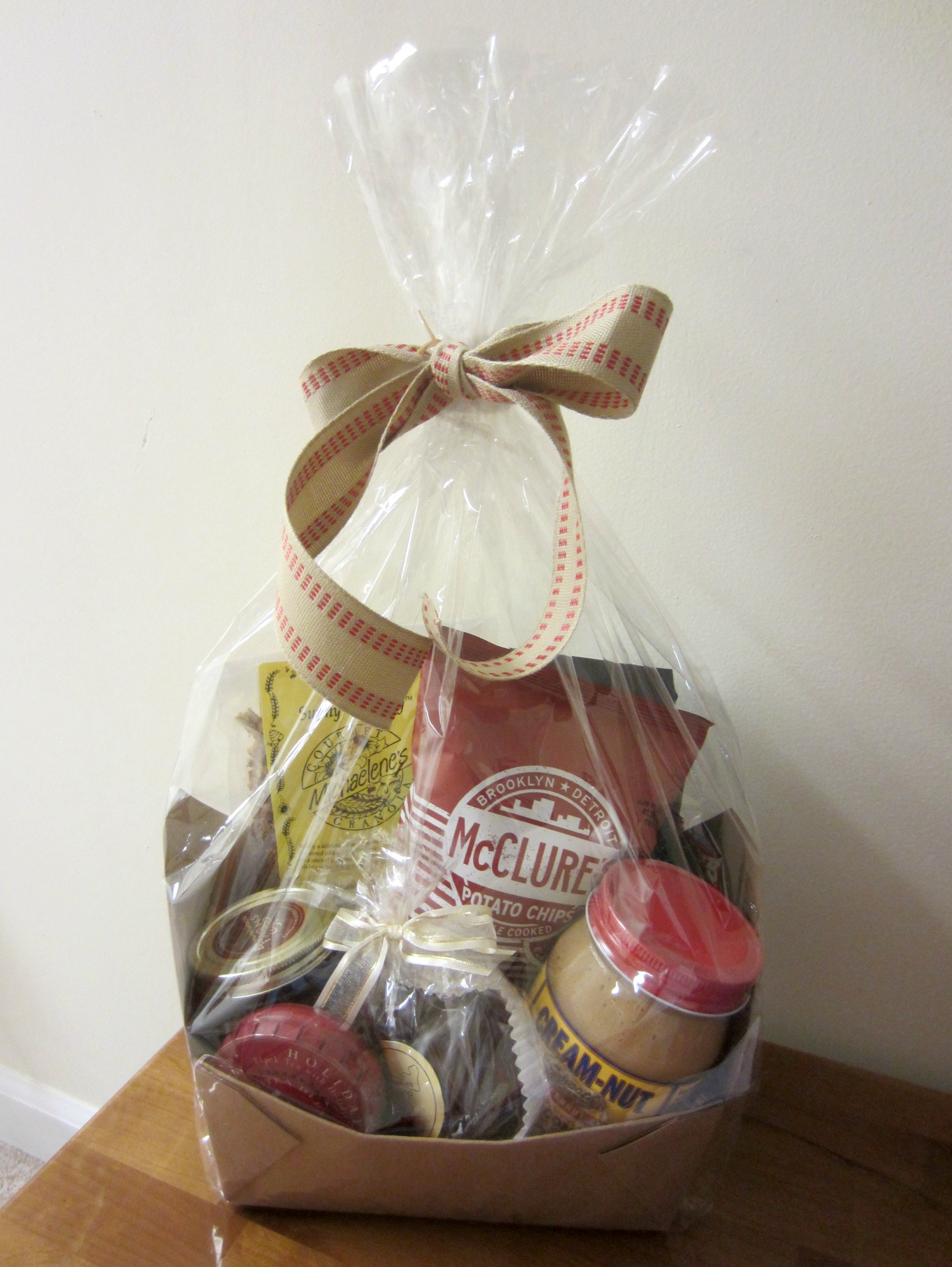 made in detroit gift basket