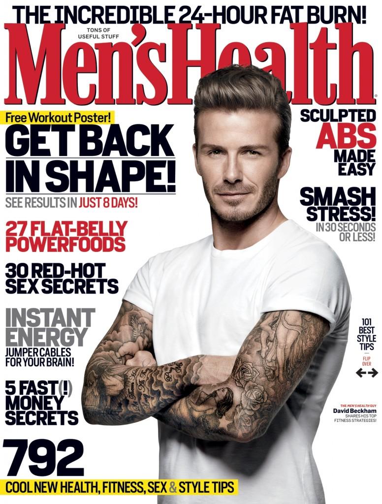 mens health magazine cover