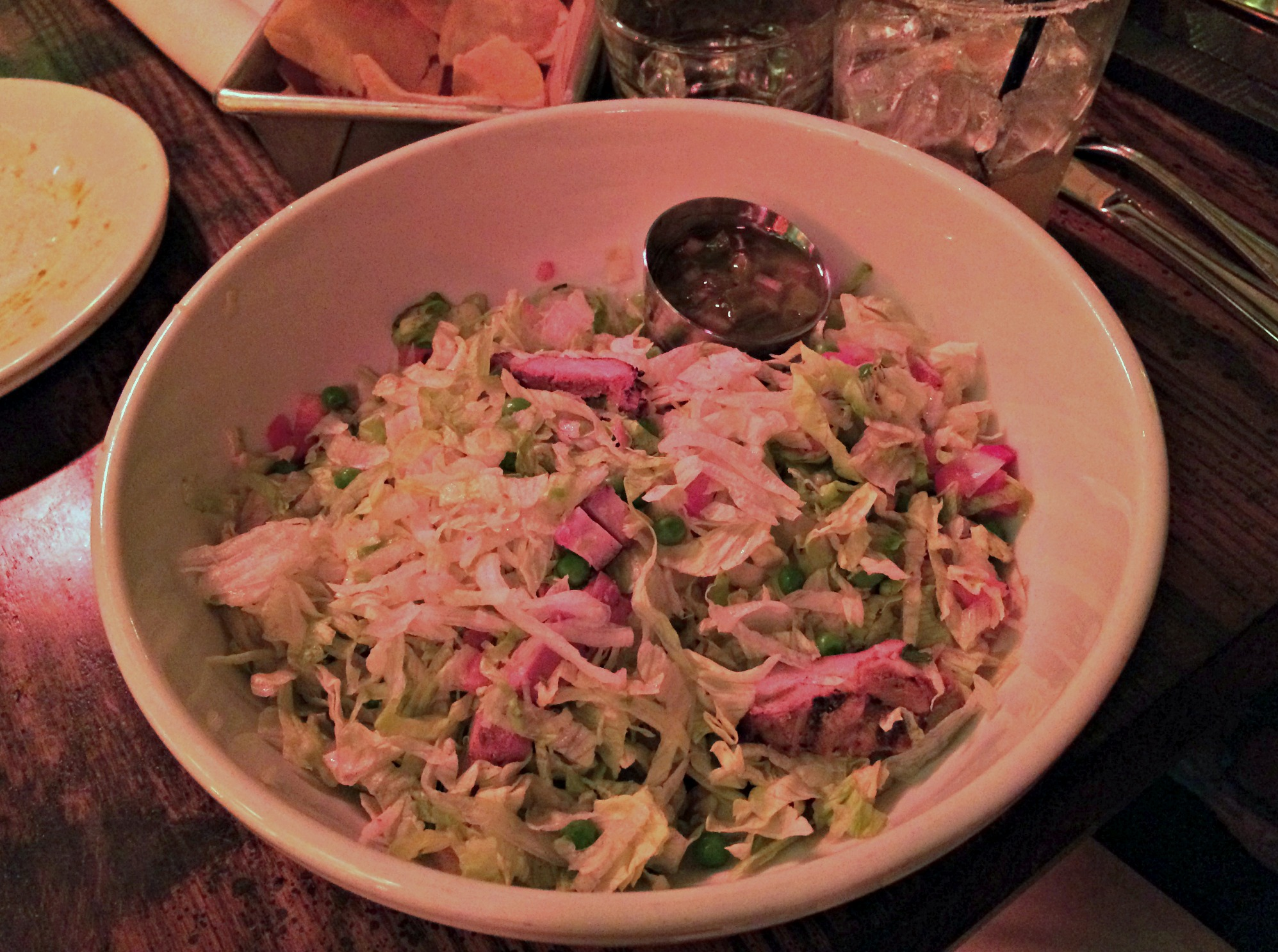 mex chicken chopped salad