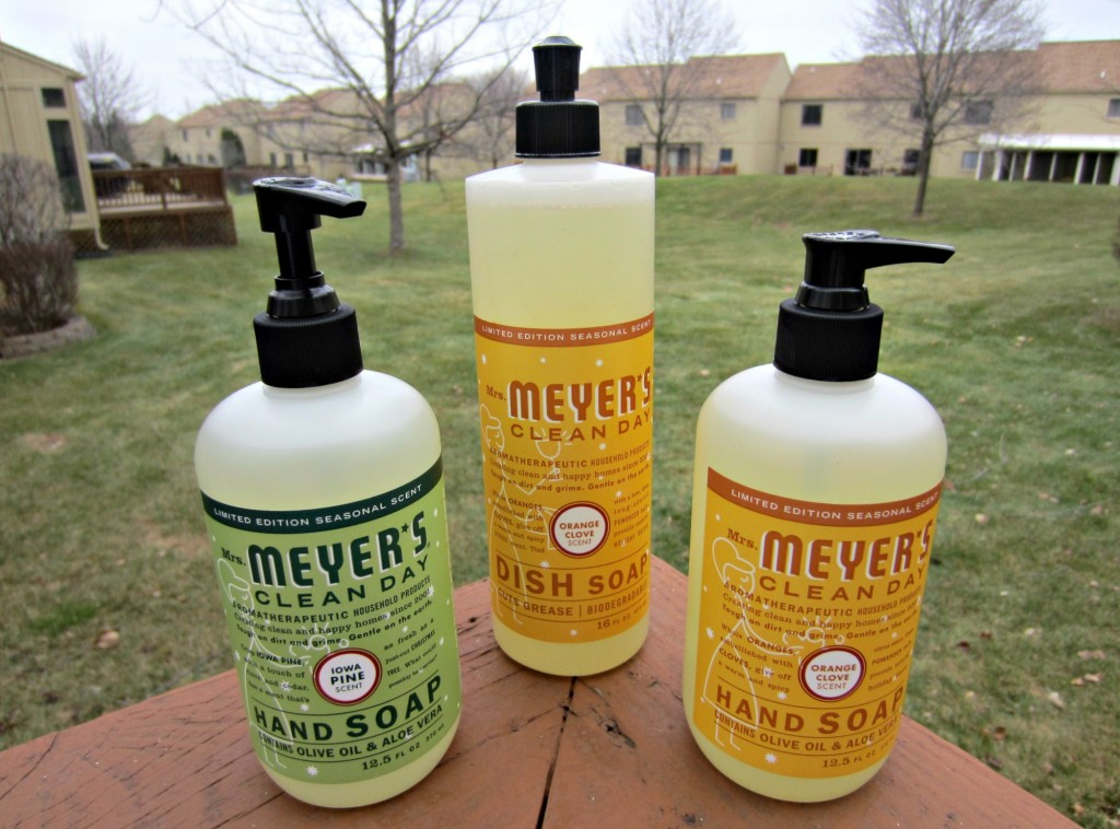 mrs. meyer's clean day seasonal scents