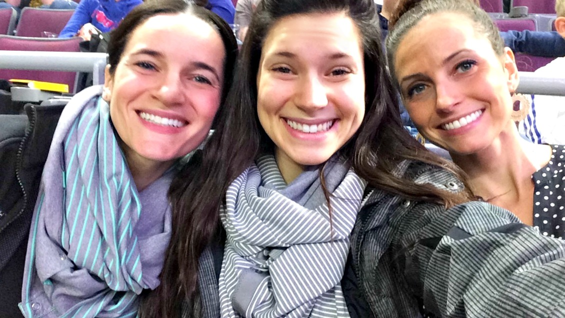 pistons game with alex and dana