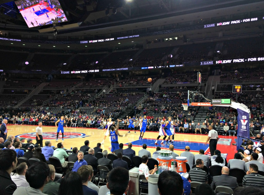 pistons vs mavericks