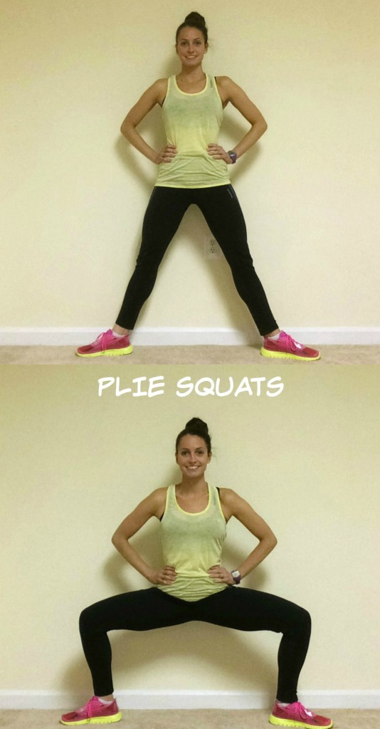 plie squat exercise