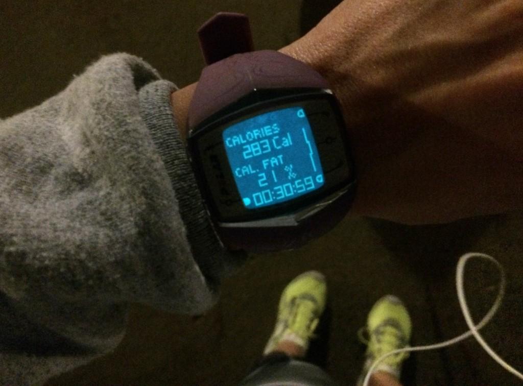 post 3 mile run stats