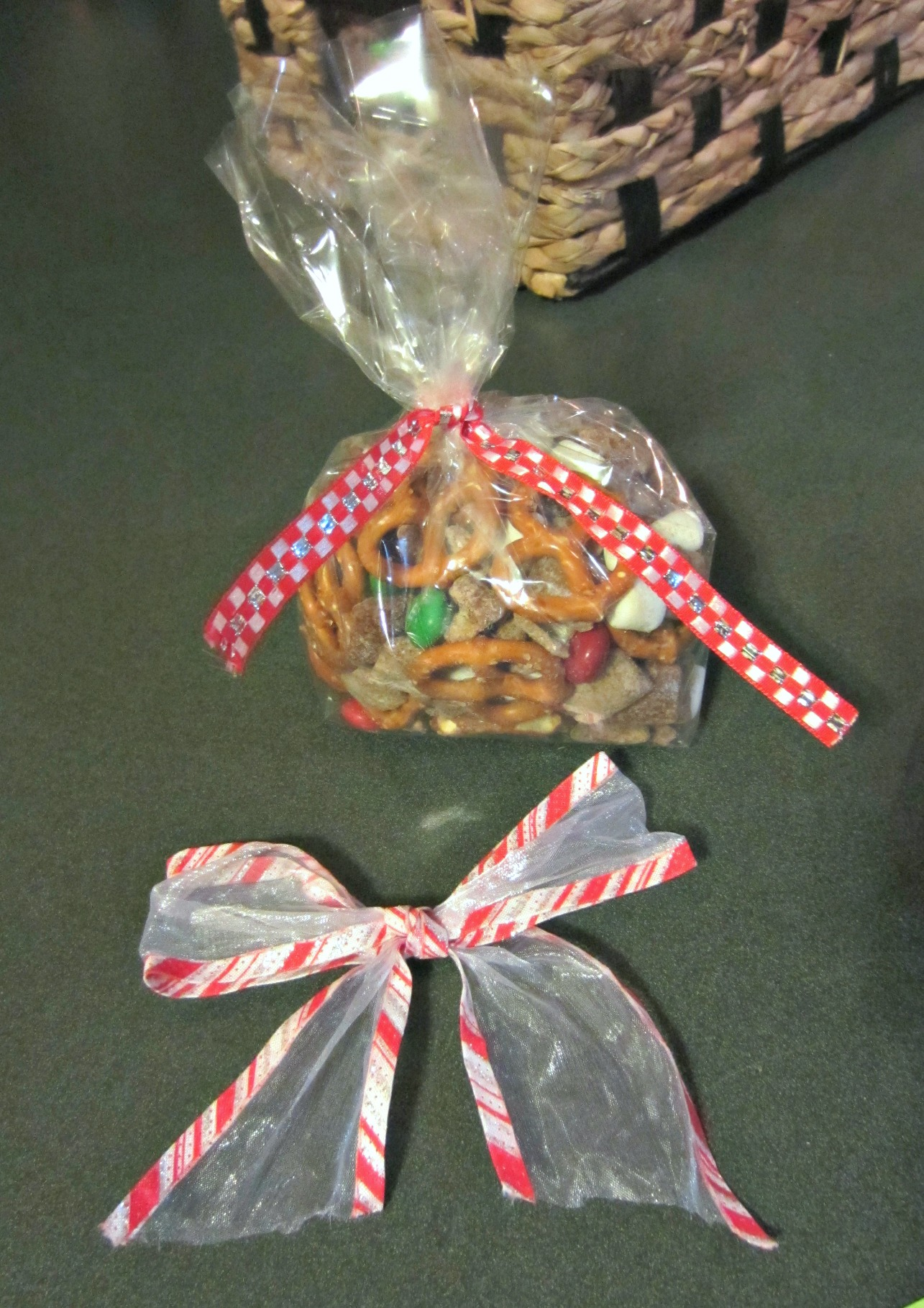 reindeer puppy chow present