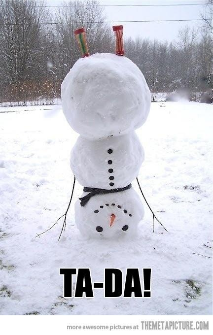 snowman funny