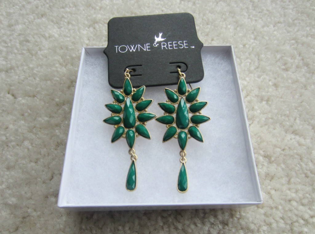 stitch fix earring towne & reese kassidy sunburst drop earrings