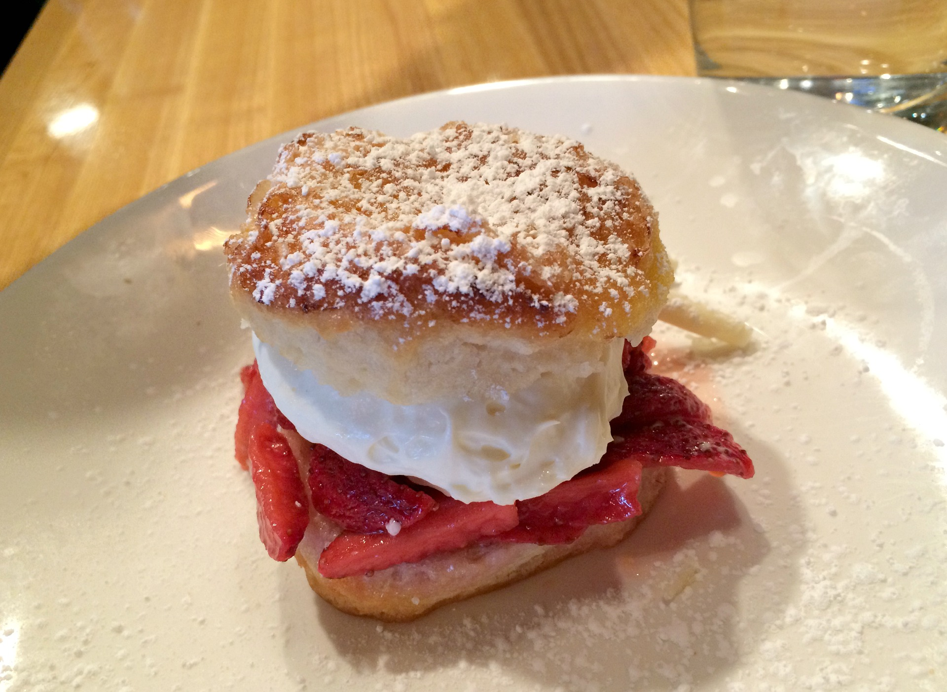 the meeting house strawberry shortcake