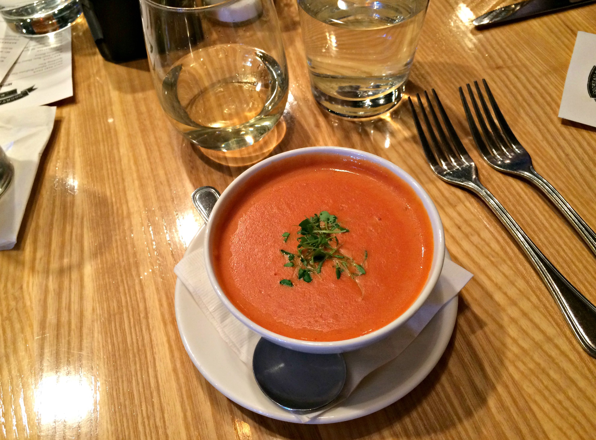 the meeting house tomato soup