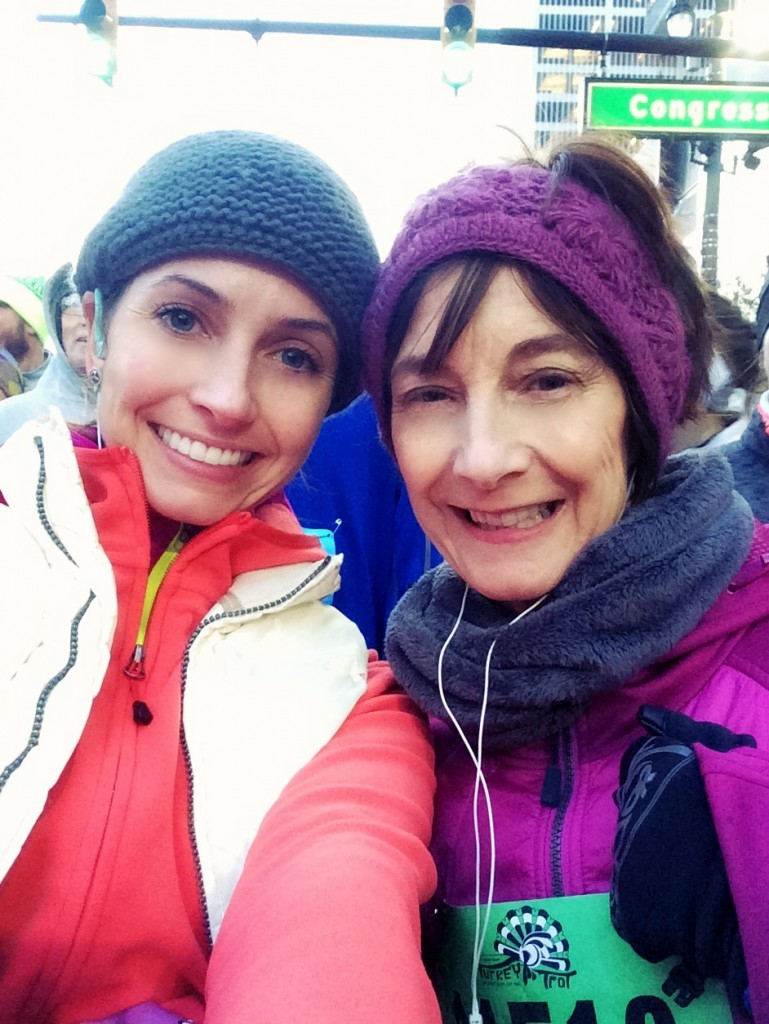 turkey trot 10k with mom