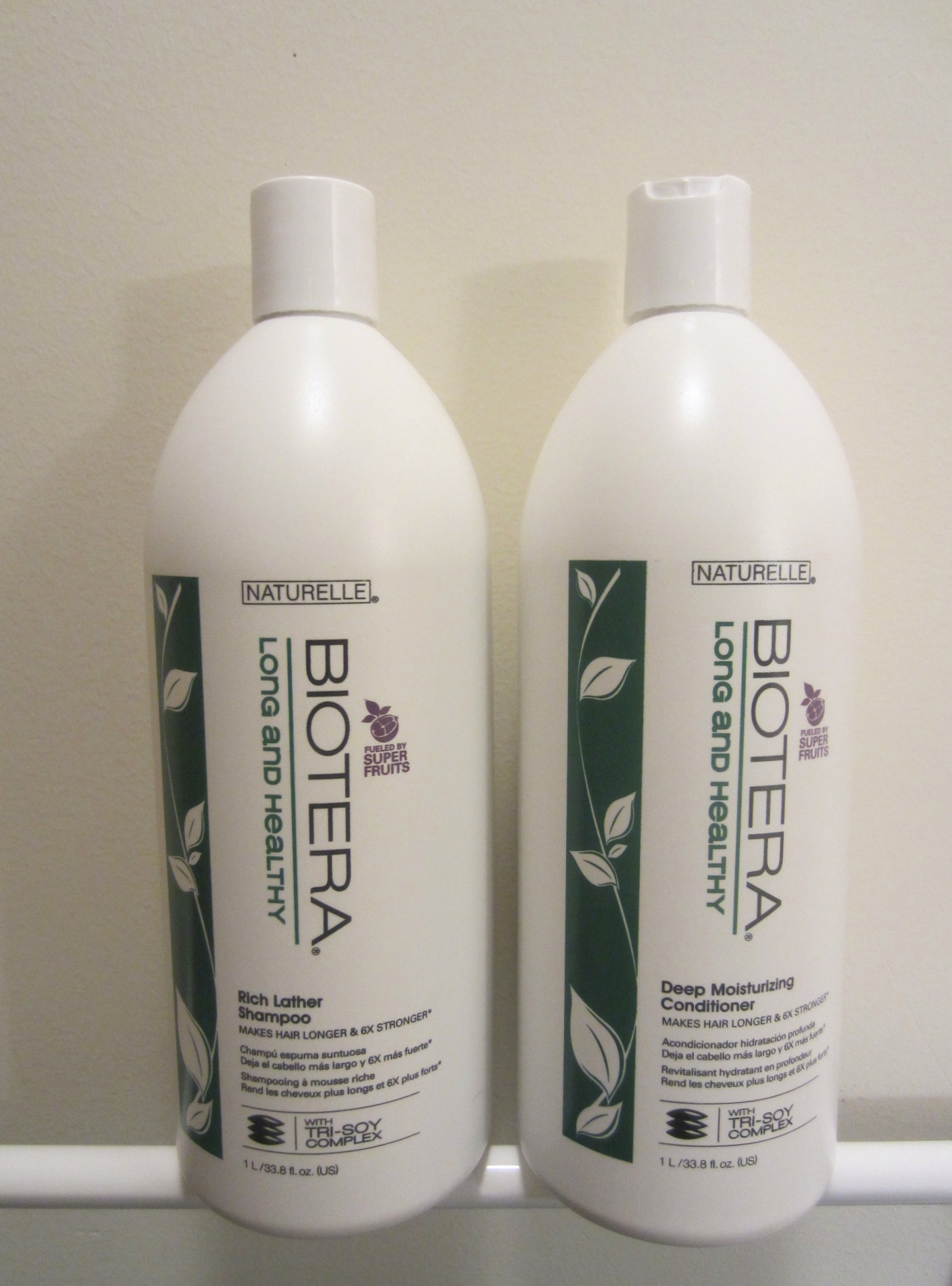 Biotera Long and Healthy shampoo and conditioner