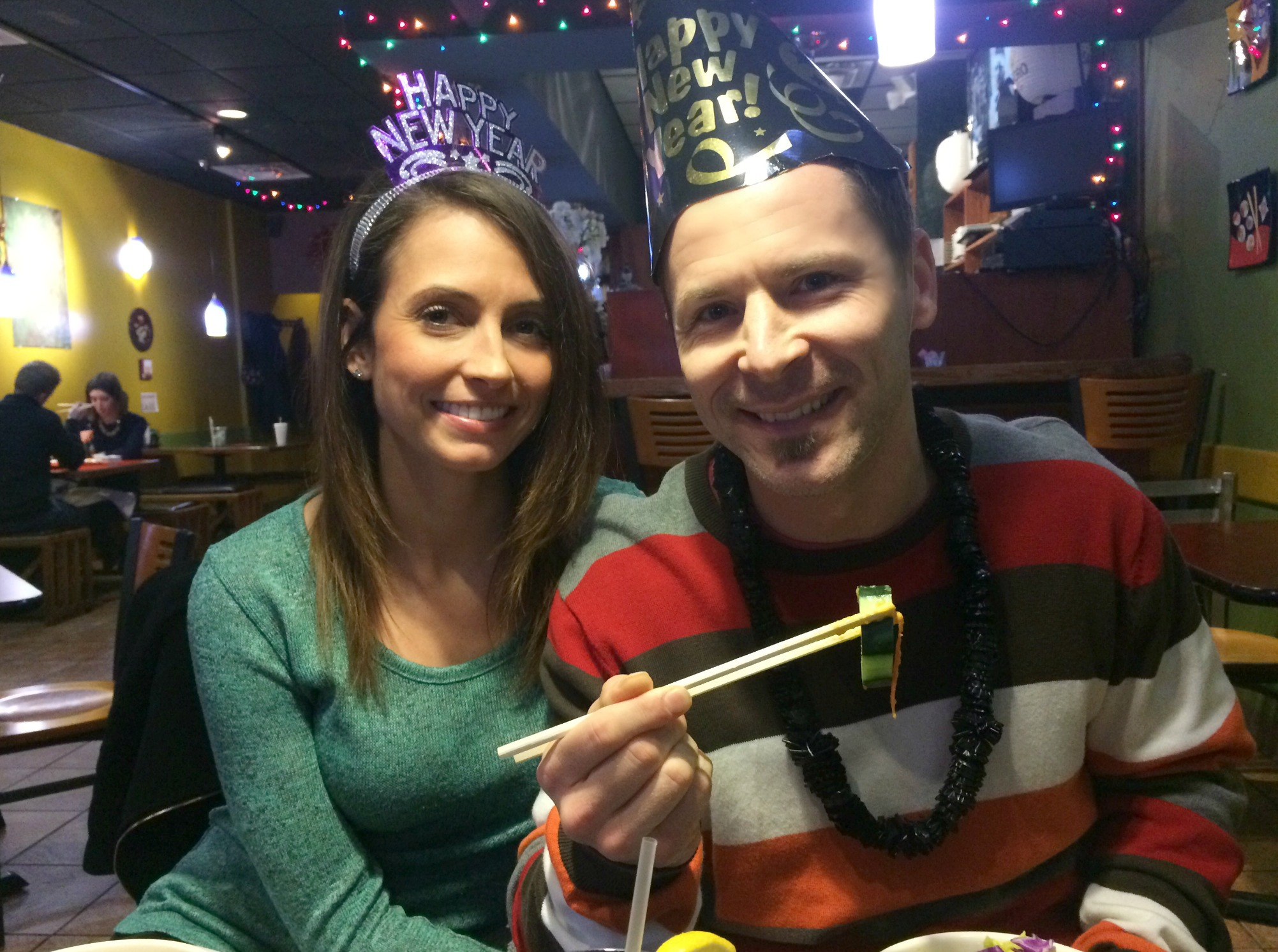 New Years Eve at sumo sushi
