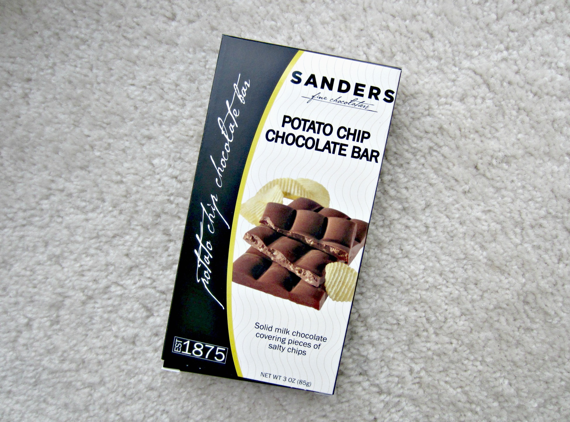 Sanders Potato Chip Chocolate Bar