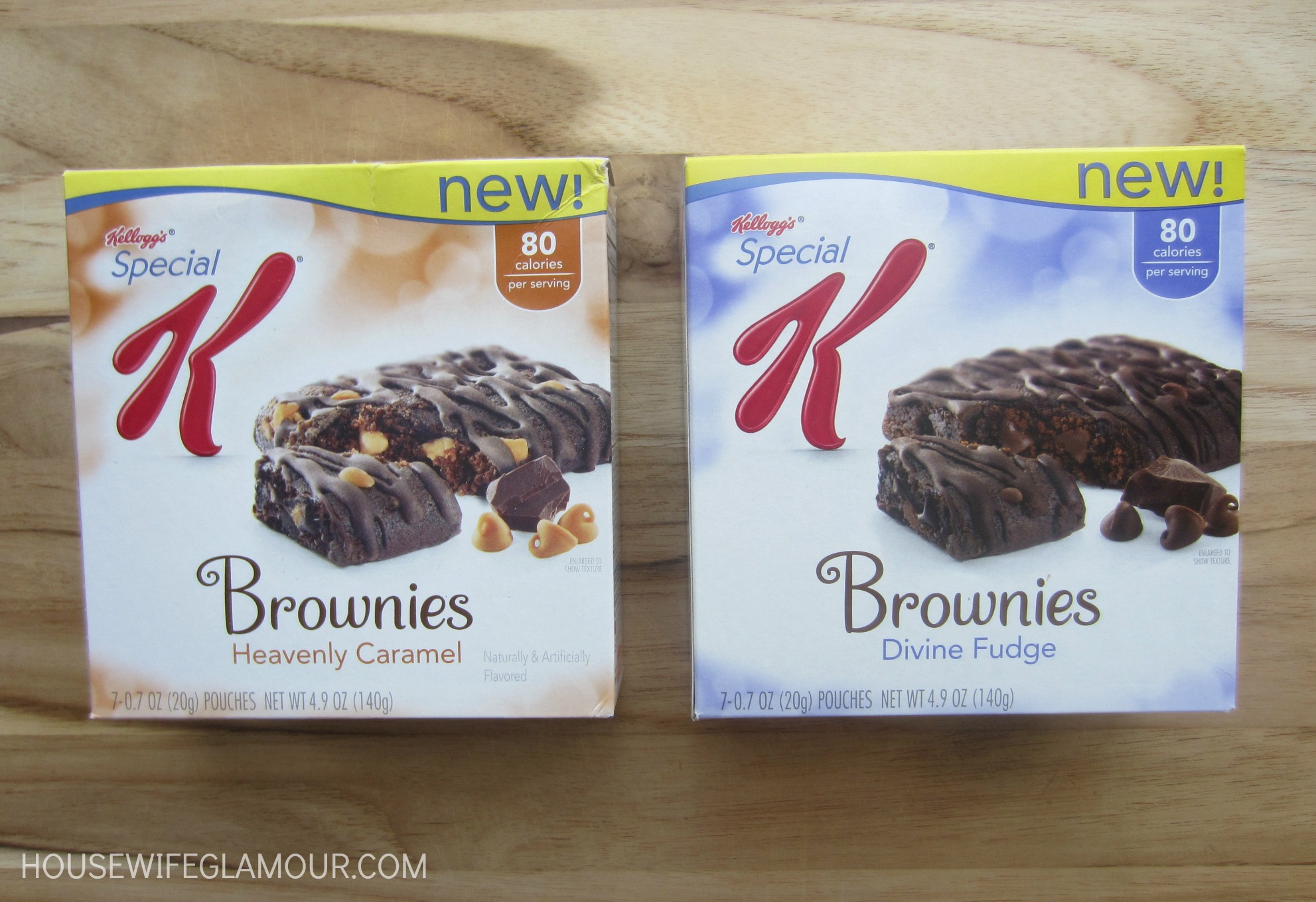 Special K Brownie boxes