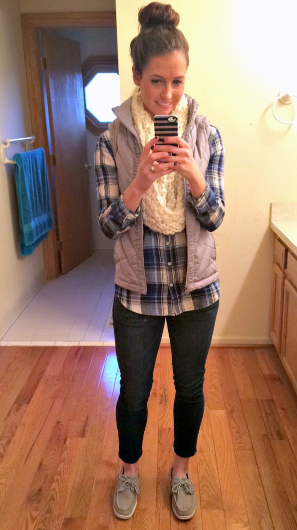 casual fall winter fashion and sperrys
