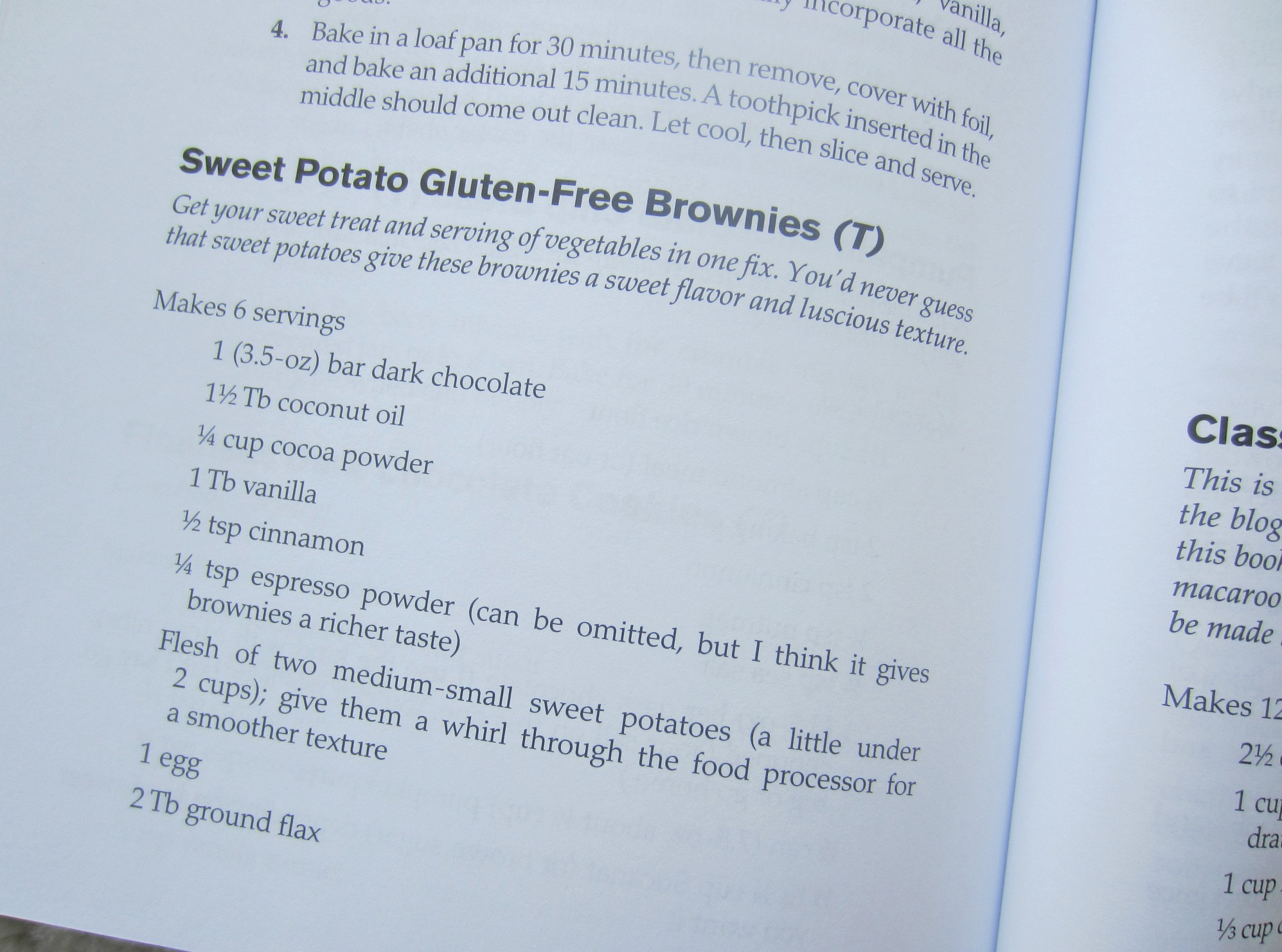 fitnessista sweet potato gluten-free brownies