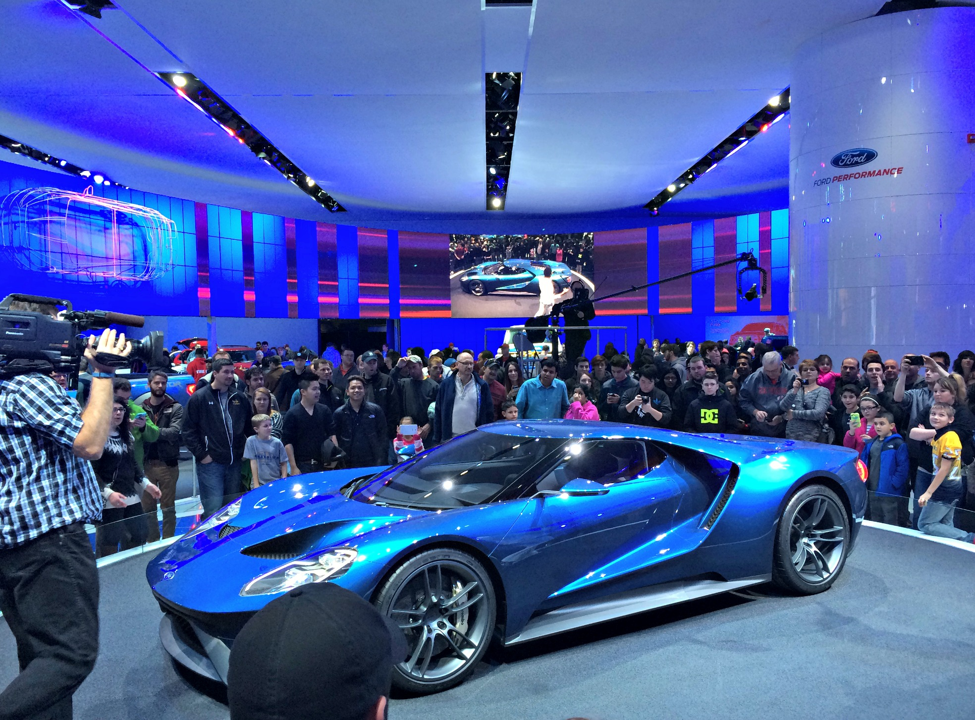 ford gt auto show