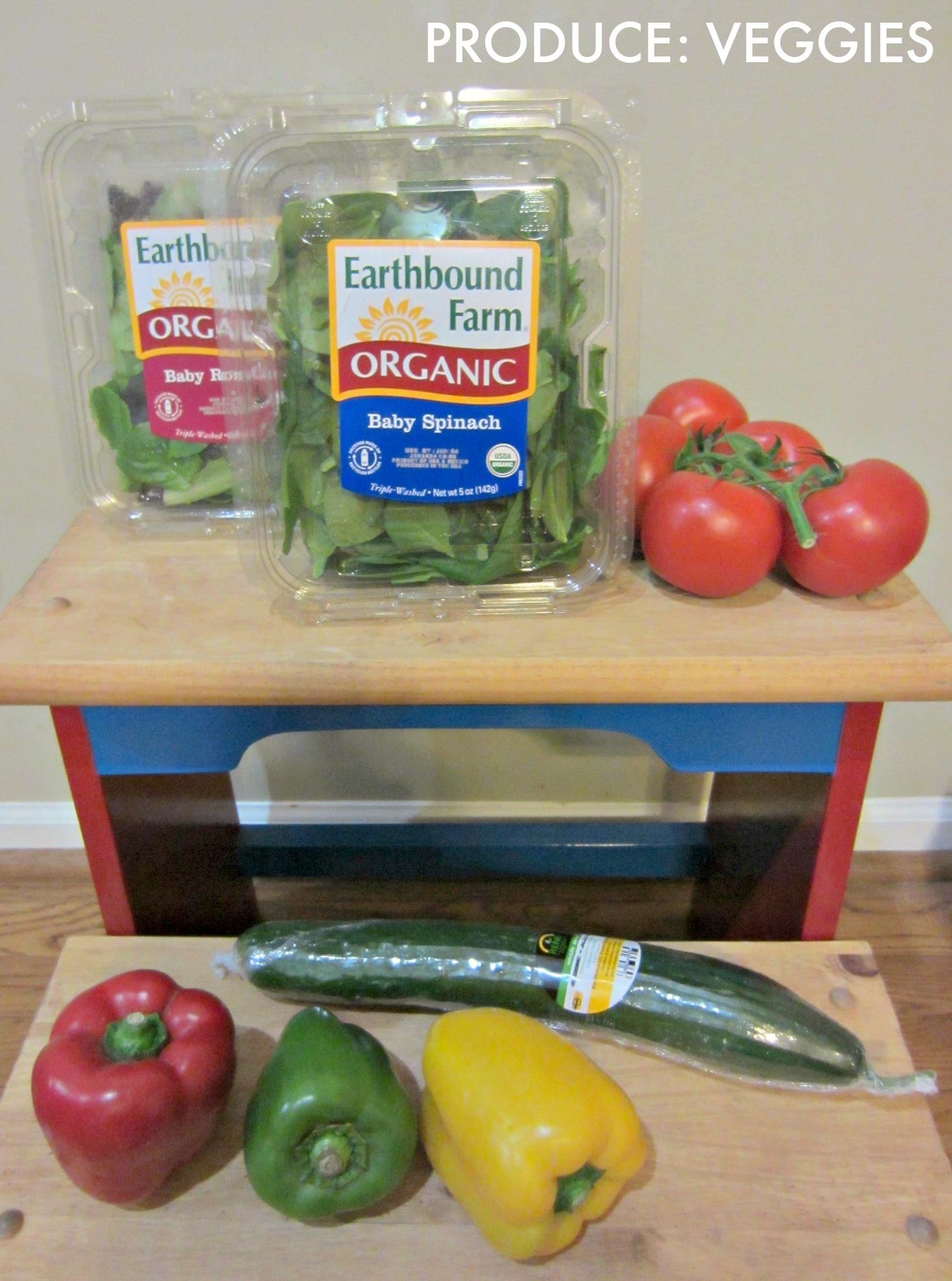 grocery haul vegetables
