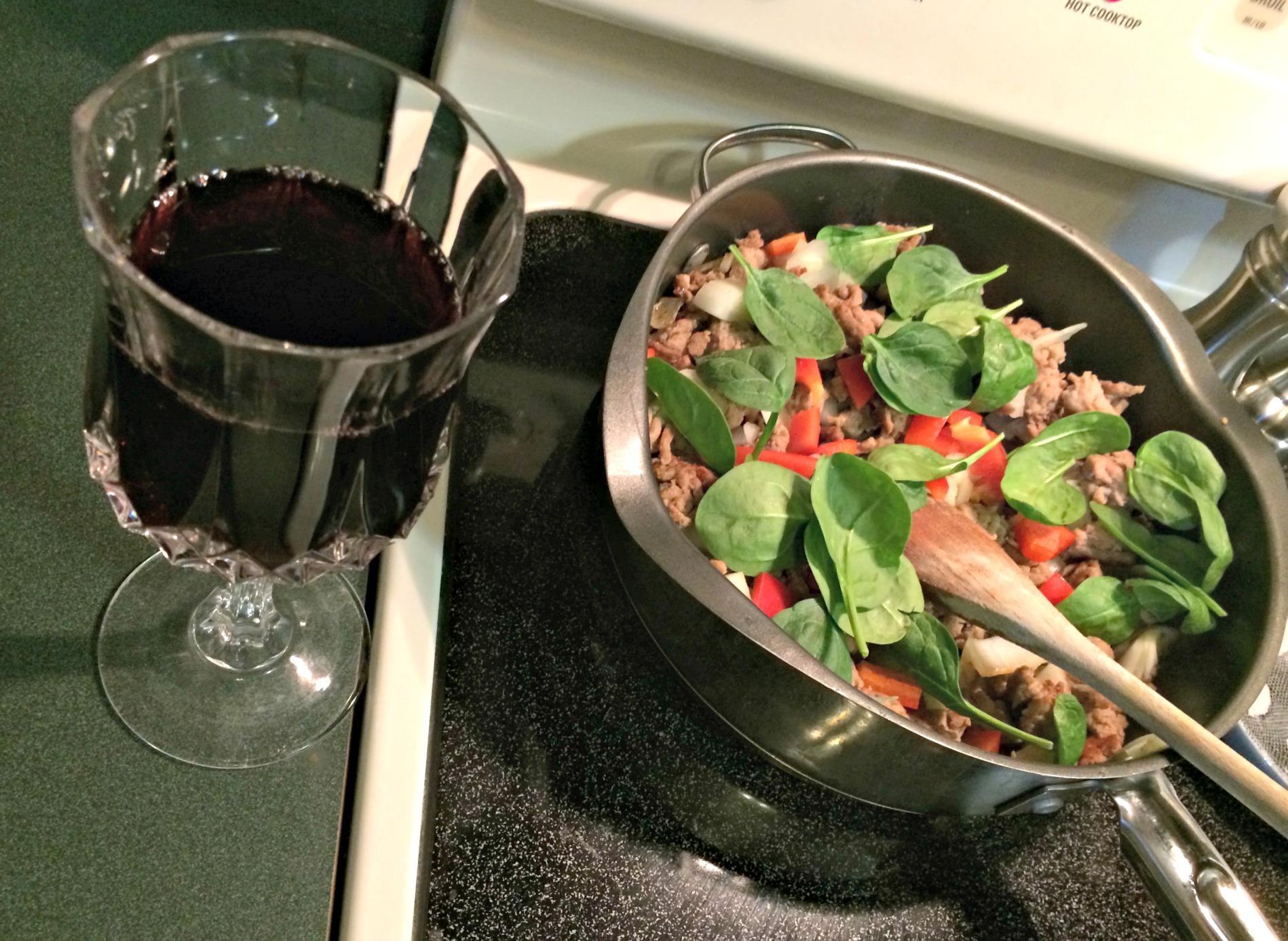 making healthier pasta sauce