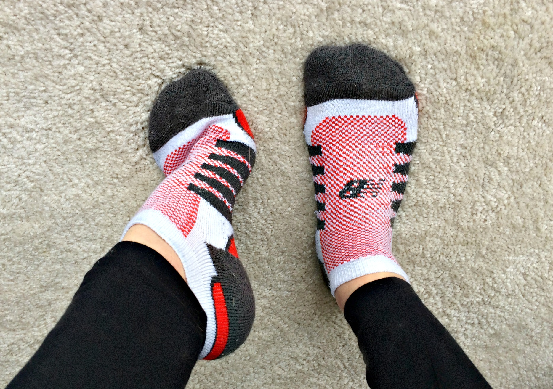 new balance running socks